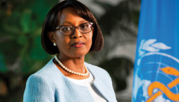 Dr. Matshidiso Moeti, head of the World Health Organization's Regional Office for Africa. Photo credit: WHO