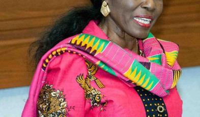 National Democratic Party candidate, Nana Konadu Agyeman Rawlings. Photo credit: Livefm
